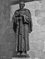 Monumento al fray Juan Ramos de Lora. Patrimonio cultural de Mérida, Venezuela.