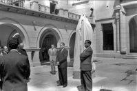 Inauguración del monumento a Fray Juan Ramos. Universidad de Los Andes, Mérida.