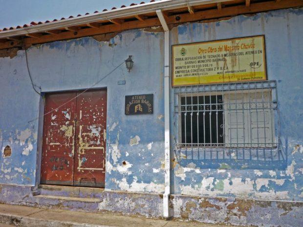 Ateneo de Barinas, patrimonio cultural venezolano en peligro.
