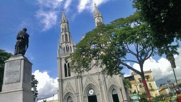 Templo San Juan Bautista de Valera. Patrimonio cultural de venezuela.