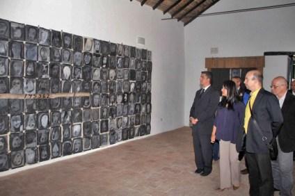 Autoridades en el acto de certificación de la mikve, baño ceremonial judío. Foto Prensa ORI