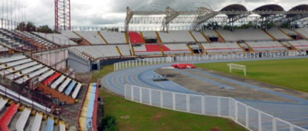 Estadio olímpico Agustín Tovar, de Barinas. Patrimonio cultural de Venezuela.