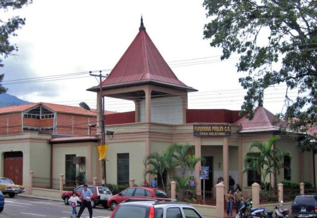 Funeraria Paolini. Patrimonio arquitectónico de San Cristóbal, estado Táchira. Venezuela.