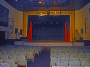 Teatro Orlando Araujo, de Barinas. Patrimonio cultural de Venezuela.