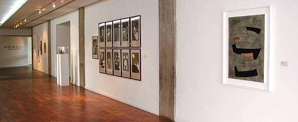 Sala 2 del Museo de Arte Moderno Jesús Soto. Ciudad Bolívar, estado Bolívar, Venezuela.