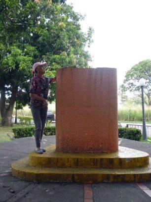 Ladrones del bronce se llevan escultura del paseo Los Trujillanos. Patrimonio cultural de Barinas en riesgo.
