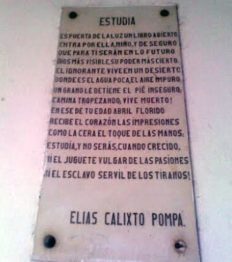 Unidad Educativa Elias Calixto Pompa, patrimonio arquitectónico de Guatire, estado Miranda. Venezuela.
