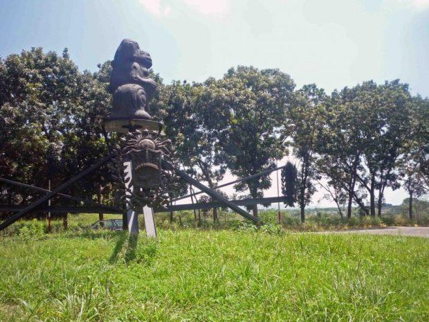 Monumento a la Diosa de la Agricultura. Vicerrectorado de la UNELLEZ, Barinas.
