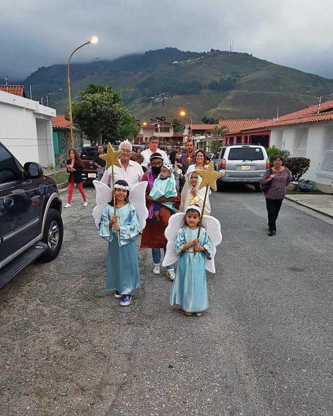 Paradura del Niño. Tradición ancestral de los andes venezolanos.