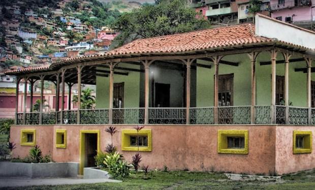Casa de campo de Guzmán Blanco. Patrimonio histórico de Venezuela en peligro.