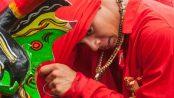 Diablo de Yare, tradición reconocida por la Unesco como patrimonio inmaterial de la humanidad. Foto Mjulianaf77_Wikimediaorg