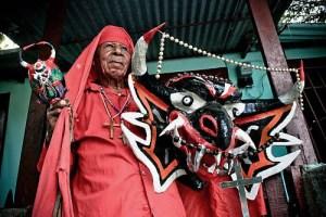 9 patrimonios mundiales de Venezuela. Diablos danzantes. Patrimonio inmaterial de Venezuela. UNESCO