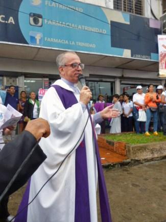 Semana Santa en Barinas. Viacrucis del Miércoles Santo. Tradiciones religiosas, patrimonio cultural inmaterial de Venezuela.