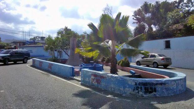 Plaza Colón de Trujillo, patrimonio cultural de Venezuela en riesgo.
