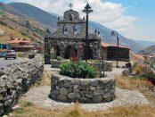 Capilla de Piedra de Juan Félix Sanchez, San Rafael de Mucuchíes. Mérida. Patrimonio cultural de Venezuela.