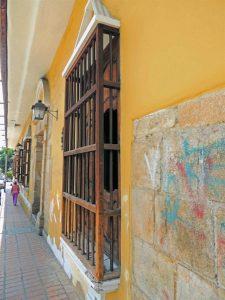 Museo de Arte Colonial de Mérida. Monumento Histórico de la nación. Patrimonio cultural de Venezuela en riesgo.
