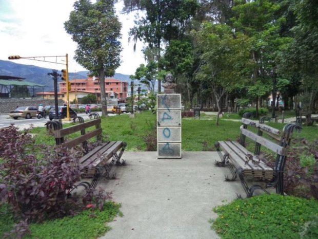 Estatuas de Mérida en extinción. Patrimonio cultural de Venezuela en peligro.