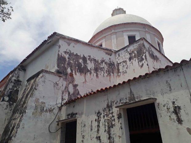 Catedral de San Carlos, patrimonio cultural de Venezuela en peligro.