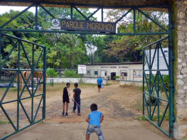 Parque Moromoy de Barinitas. Patrimonio cultural y natural de Venezuela.