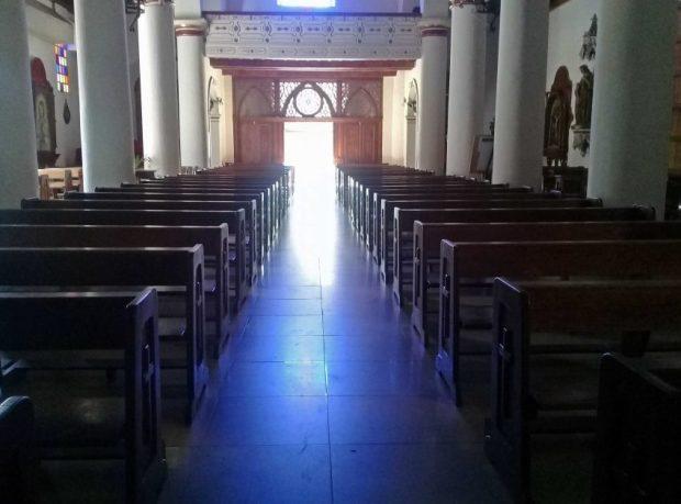 Catedral de Barcelona, estado Anzoátegui. Monumento Histórico Nacional de Venezuela en peligro.
