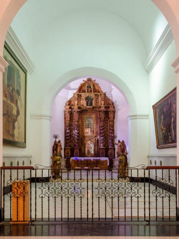 Capilla Nuestra Señora del Pilar, Catedral Metropolitana de Caracas, fotografía Luis Chacín, 2018.