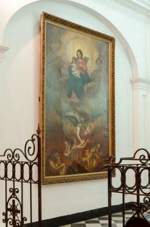 Capilla Santiago Apóstol, Catedral Metropolitana de Caracas, fotografía Luis Chacín, 2018.