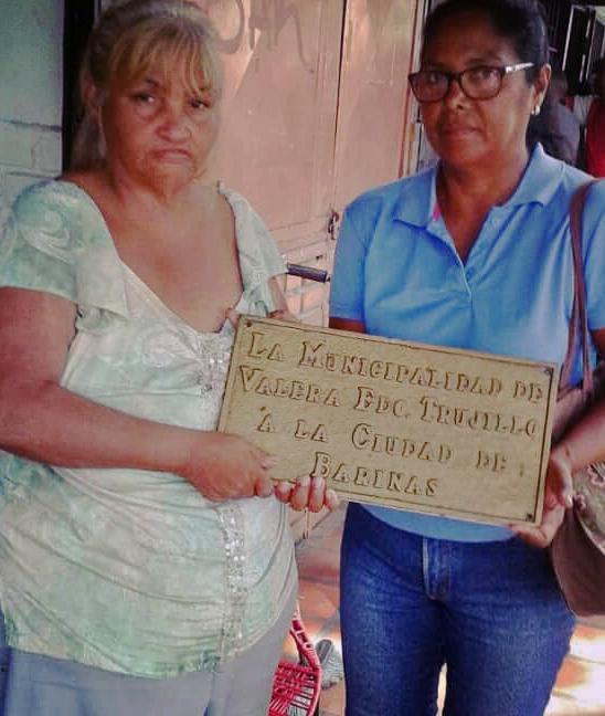 Placa de bronce de Antonio Nicolás Briceño. Patrimonio cultural de Barinas, Venezuela.