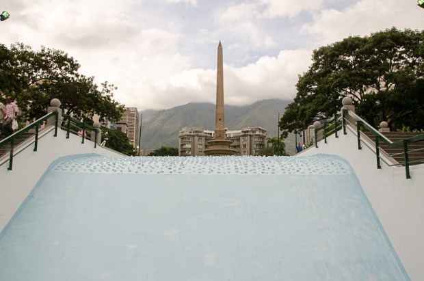 Plaza Francia de Altamira. Patrimonio arquitectónico de Venezuela.
