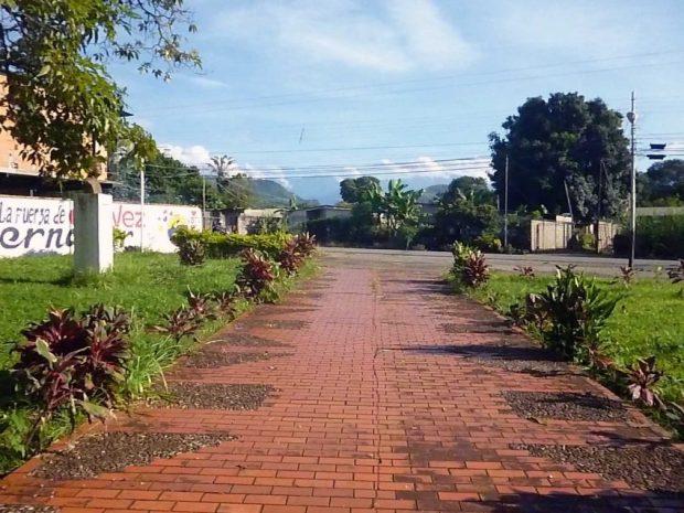 Plaza Los Arvelo, Barinitas, estado Barinas. Patrimonio cultural de Venezuela.