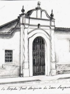 Par de mascarones del siglo XVIII que preserva el Museo de Arte Colonial de Caracas. Patrimonio cultural de Venezuela.