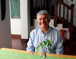 Arq. Bernardo Moncada Cárdenas, promotor del diplomado Guías de la Catedral de Mérida. Foto Samuel Hurtado Camargo, septiembre 24 de 2018