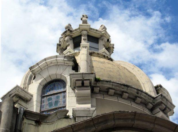 Cúpula y cupulín de la Catedral Metropolitana. Mérida-Venezuela. Foto Samuel Hurtado Camargo, octubre 20 de 2018