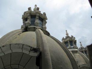 Detalles de los cupulínes visto desde la azotea de la Catedral Metropolitana. Mérida-Venezuela. Foto Samuel Hurtado Camargo, octubre 20 de 2018