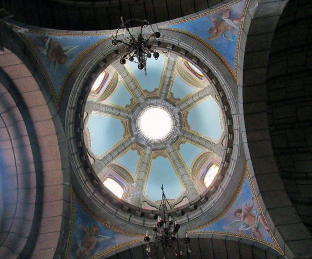 Detalles del interior de los cupulínes de la Catedral Metropolitana. Mérida-Venezuela. Foto Samuel Hurtado Camargo, octubre 20 de 2018