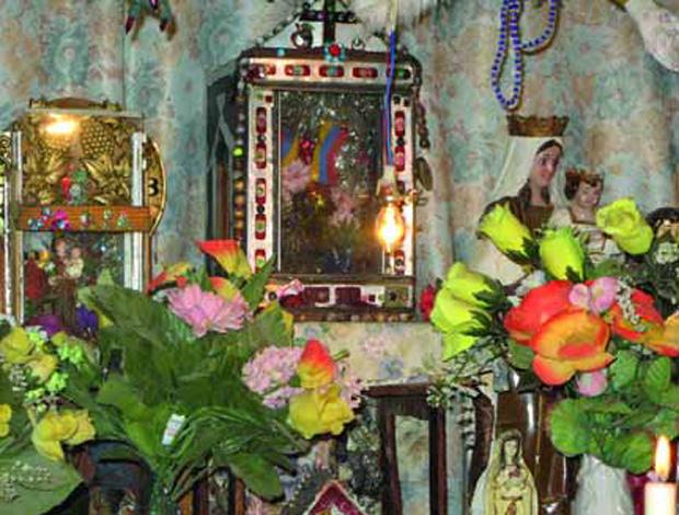 Fiesta y velorio de San Antonio de Padua en Portuguesa. Foto Intituto del Patrimonio Cultural, circa 2010.