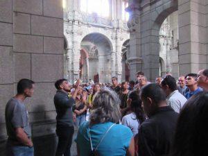 Otra vista del recorrido por el interior de la Catedral Metropolitana. Mérida-Venezuela. Foto Samuel Hurtado Camargo, octubre 20 de 2018