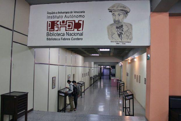 Sala de Exposiciones de la Biblioteca Febres Cordero, Mérida-Venezuela. Foto Samuel Hurtado Camargo, octubre 16 de 2018.