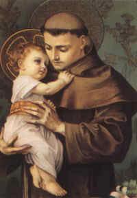 San Antonio de Padua, el santo protagonista del tamunangue larense. Foto Wikipedia