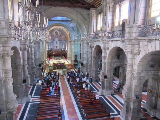 Vista interior de la Catedral Metropolitana. Mérida-Venezuela. Foto Samuel Hurtado Camargo, octubre 20 de 2018