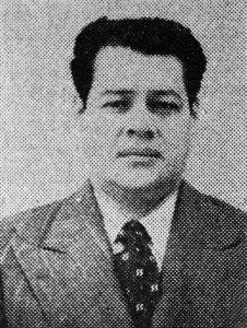Además de dirigente político, en el imaginario merideño Alberto Carnevali es reconocido como un muerto milagroso. Foto El Universal, 20-1-1953.