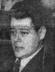 Alberto Carnevali murió por la democracia venezolana. Mérida. Foto La Opinión, 24-5-1964, p. 1. Dig. Samuel Hurtado Camargo.