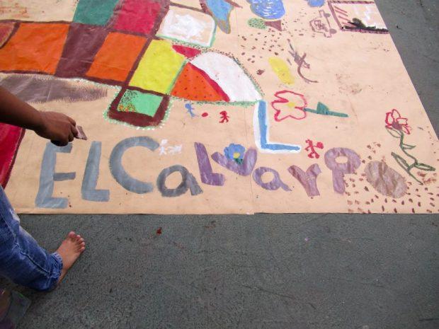 Décadas de organización y siembra cultural hacen de El Calvario en un modelo positivo para otras barriadas de Venezuela. Foto Luis Chacín, noviembre 2018.