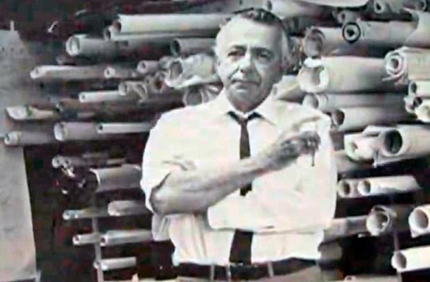Arq. Tomás José Sanabria. Fotograma del video 4 miradas Tomas Sanabria, Colección Sanabria.