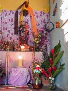 2017. Altar de San Antonio en Villa Araure Uno, Portuguesa. Foto Wilfredo Bolívar.
