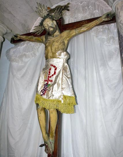 Panorámica frontal izquierda (derecha del observador) del Santo Cristo de La Grita.