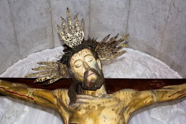 Santo Cristo de La Grita. Foto Abel Gerardo Rodríguez, TRT, 2013.