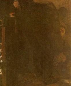 Fragmento de El plazo vencido, obra de Cristóbal Rojas. Colección Galería de Arte Nacional. Caracas, Venezuela.