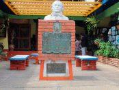 Monumento al general Francisco de Miranda, en Mérida. Patrimonio cultural de Venezuela. Monumento al general Francisco de Miranda, Mérida. Foto Samuel Hurtado Camargo, marzo 3 de 2019.