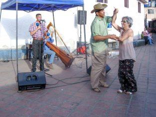 Plaza La Cruz es escenario de múltiples iniciativas culturales del barrio El Calvario, en El Hatillo. Miranda. Foto cortesía de la comunidad.