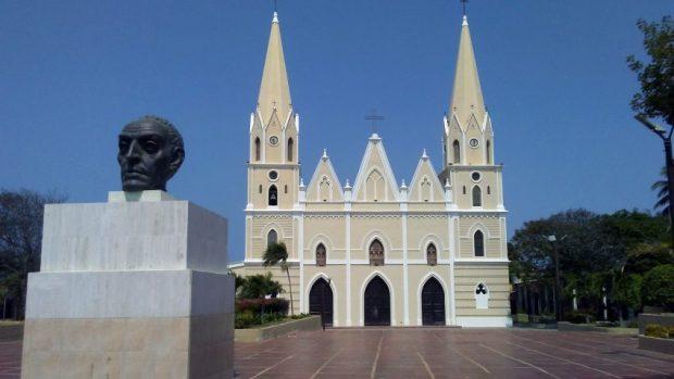 Aspecto general de la iglesia San Rafael, de El Moján. Municipio Mara - Zulia. Foto Marinela Araque, marzo 2019